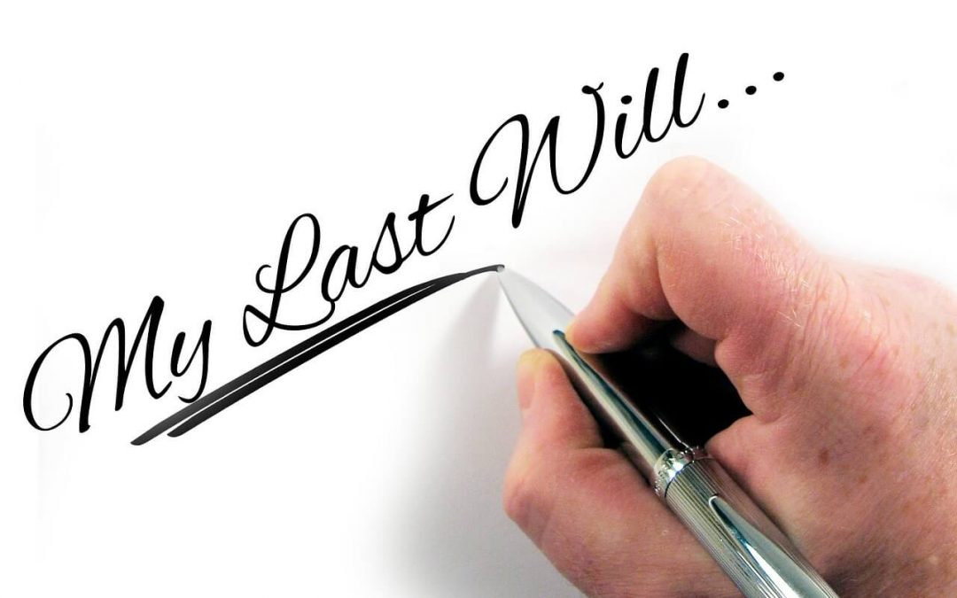 Why do I need a will?